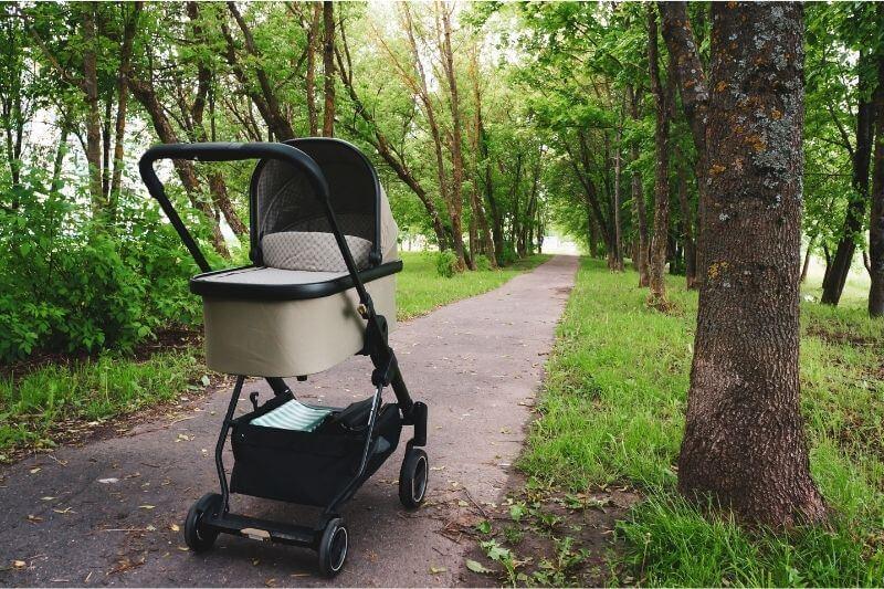 עגלה לתינוק שנולד